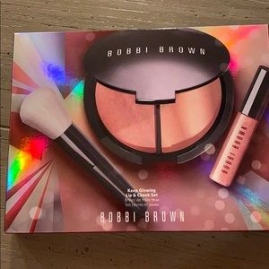 Bobbi Brown Keep Glowing Lip & Cheek Set NIB